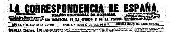 La correspondencia de España