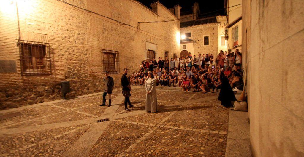 Visita guiada con teatro en Toledo
