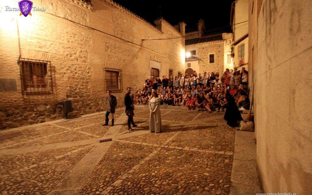 Visitas guiadas nocturnas con actuación de teatro en Toledo
