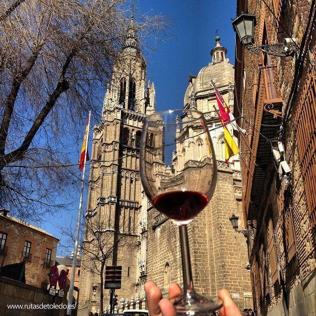 Vino en Toledo