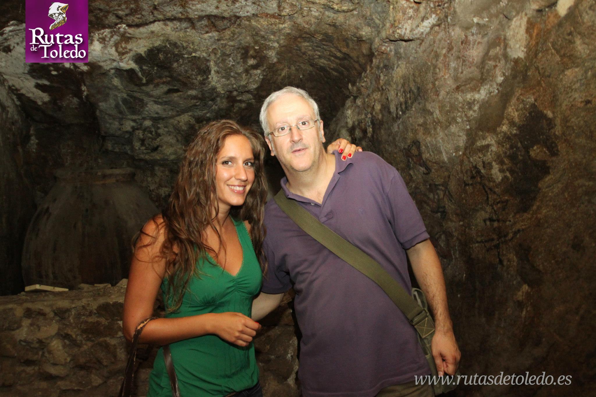 Con María Toledo