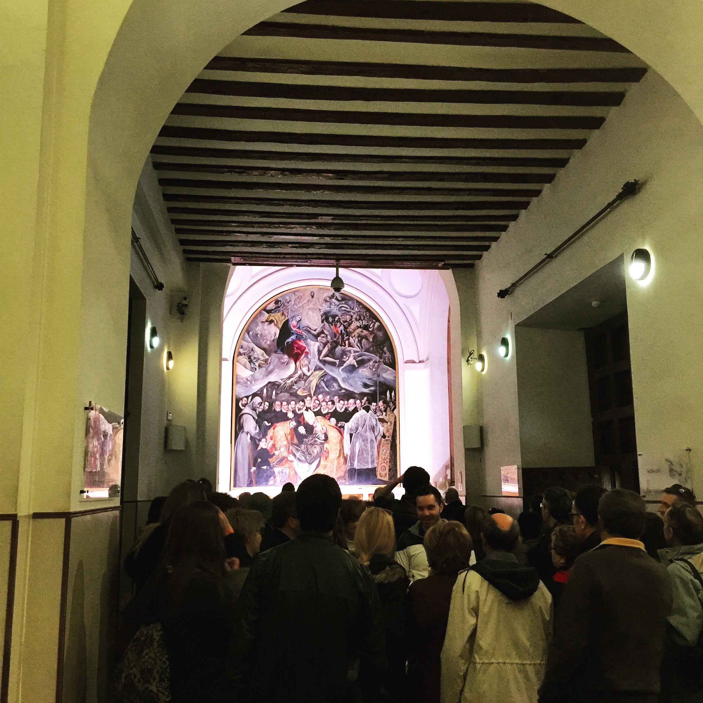 Entierro del Señor de Orgaz, El Greco