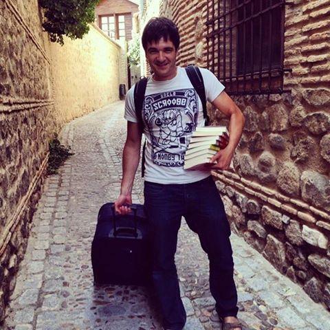 Eloy Moreno en Toledo