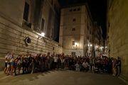 Tres grupos de la ruta Toledo siniestro tras el teatro la noche del 17/08/19