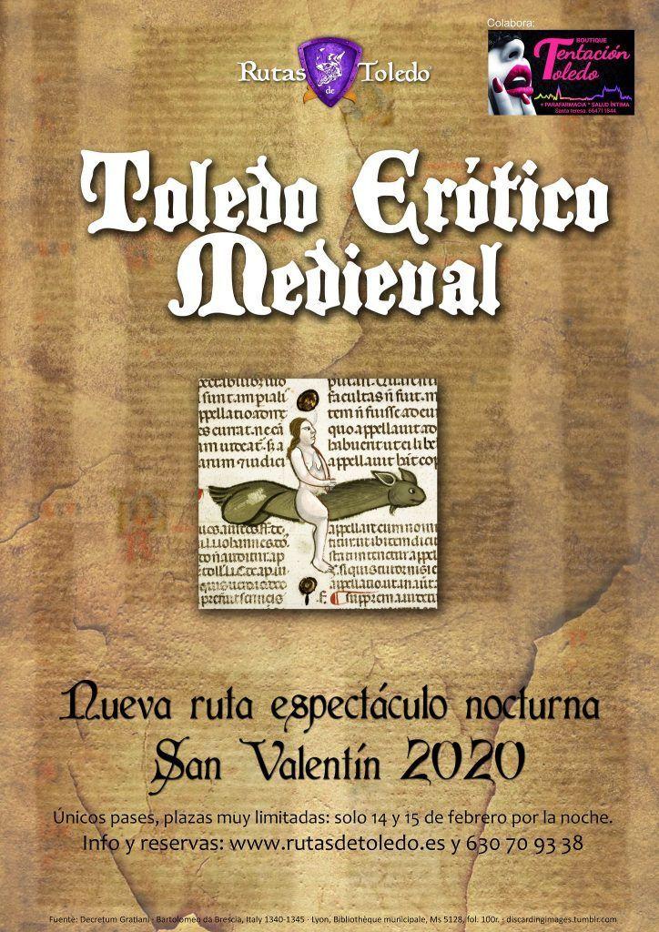 Cartel Toledo Erótico Medieval 2020