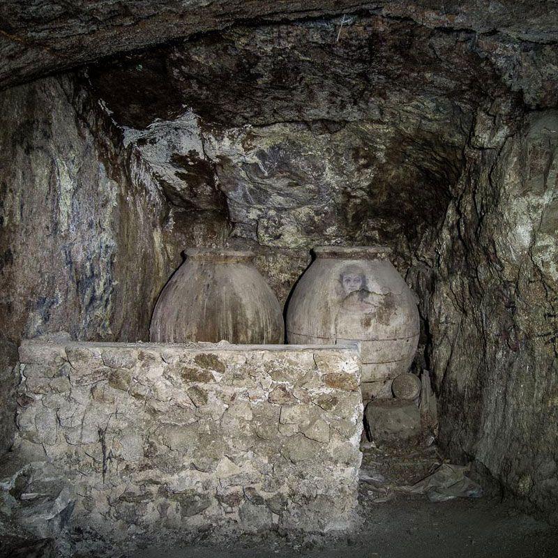 """Cueva que se visita en la ruta """"Descubre el Toledo Mágico"""""""