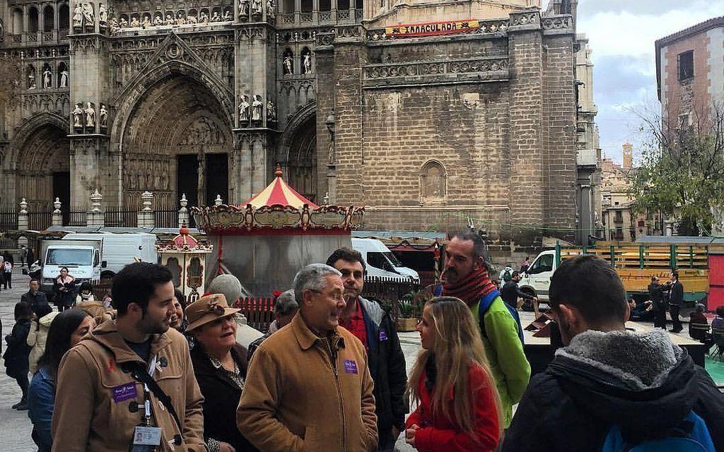 Reportaje en España Directo sobre «Rutas de Toledo»