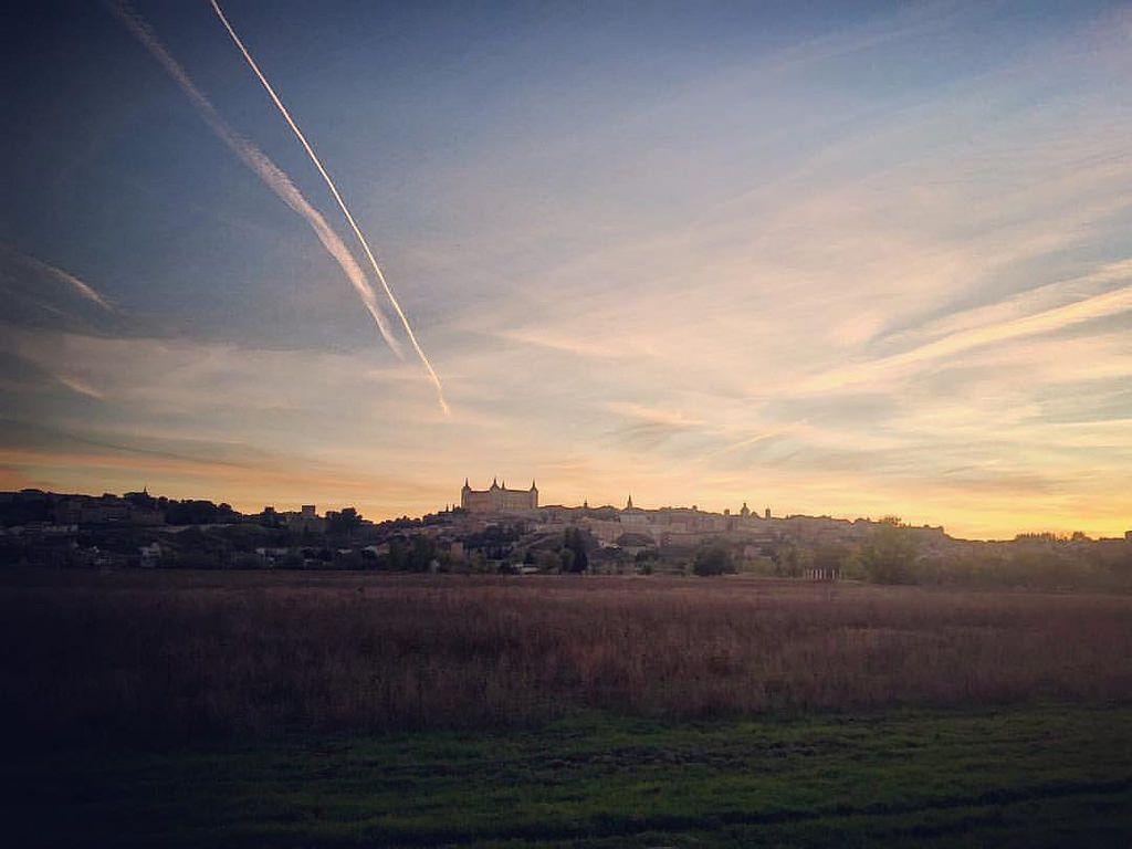 Vista de Toledo al atardecer