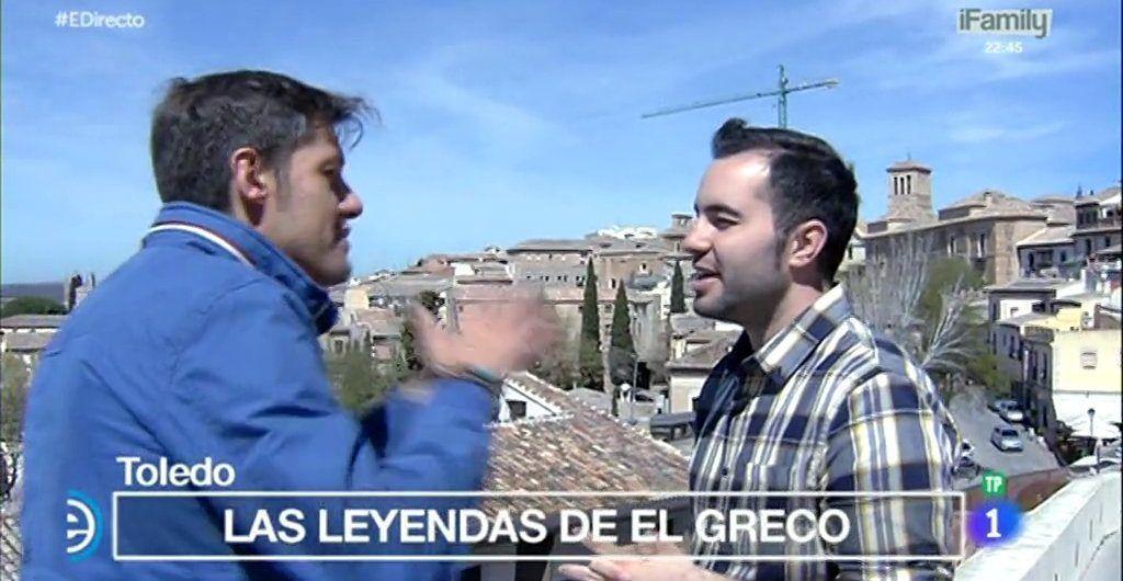 Alberto López en España Directo