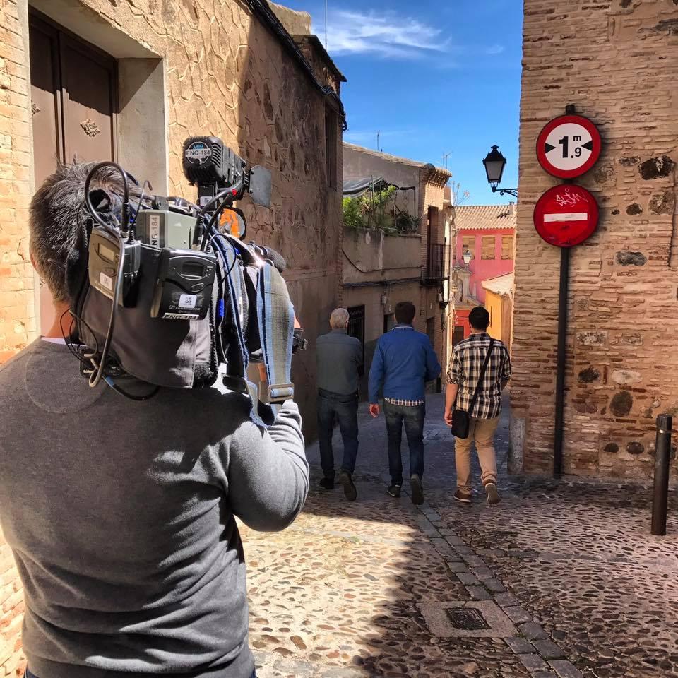 Buscando rincones para grabar con España Directo