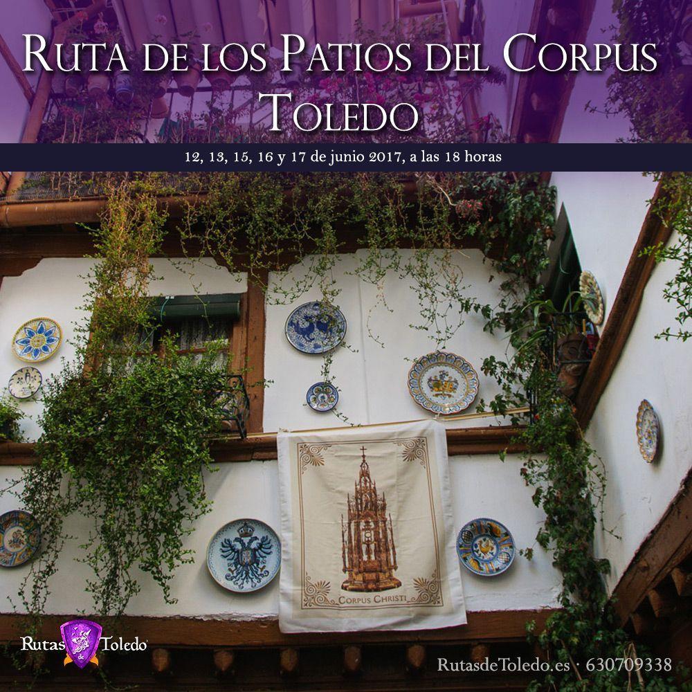 Ruta por los patios del Corpus Toledo