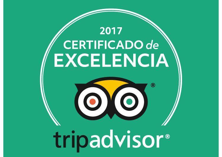 Certificado de Excelencia TripAdvisor 2017 para Rutas de Toledo