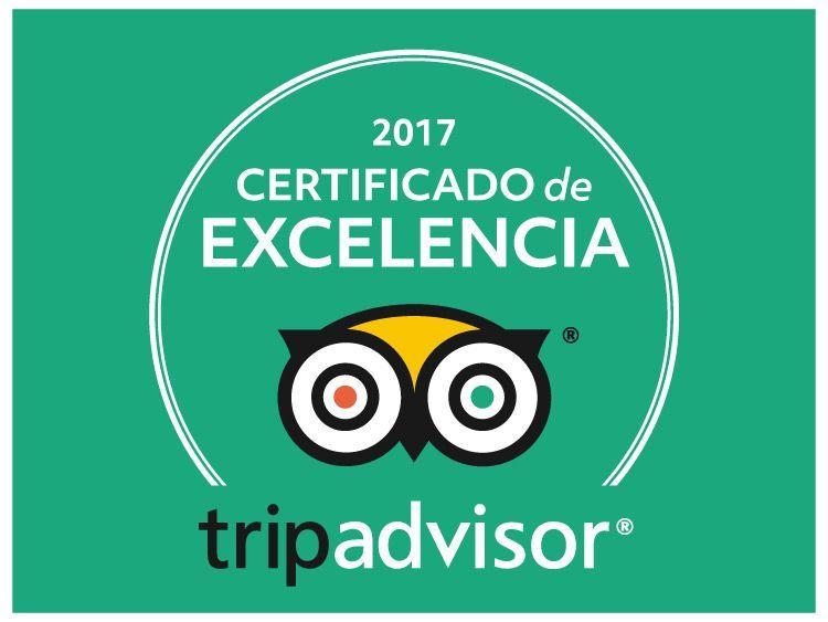 Rutas de Toledo, certificado a la Excelencia Tripadvisor 2017