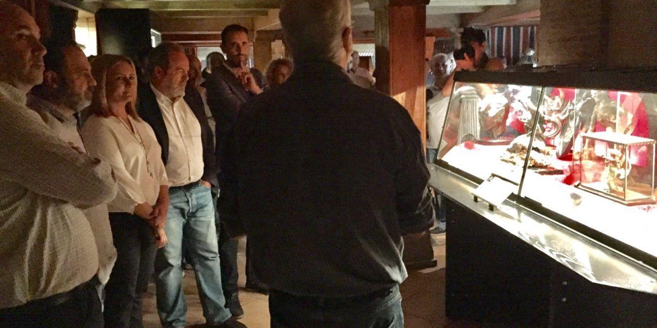 Luis Rodríguez Bausá, comisario de la exposición «Brujería: Objetos Insólitos y Criaturas Fantásticas» en Toledo