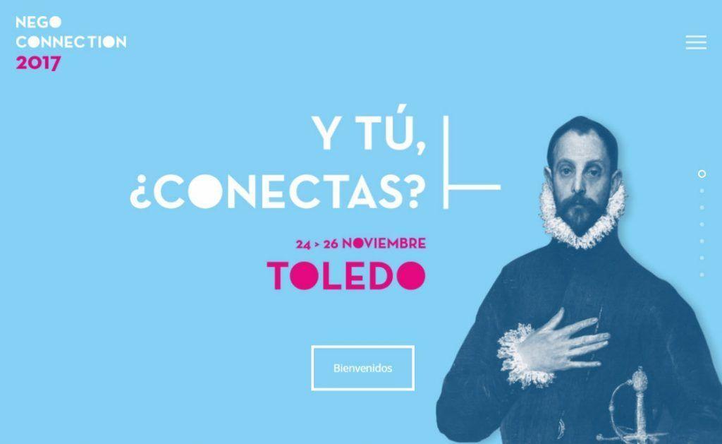 Web evento NEGO Connection 2017 en Toledo