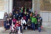 Grupo de una de nuestras rutas infantiles por Toledo