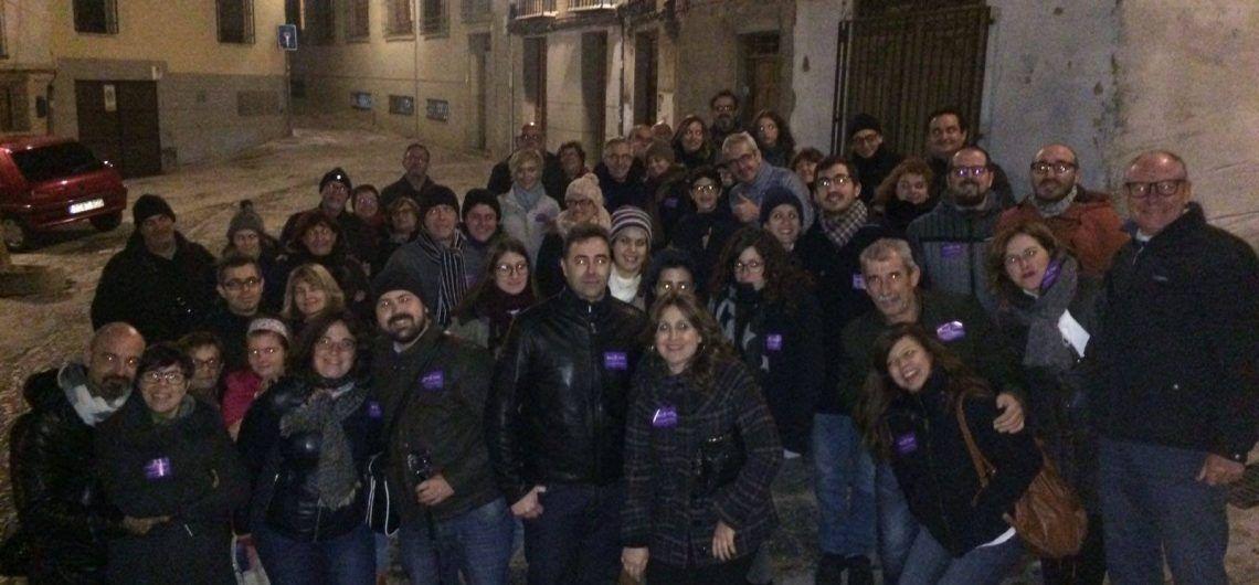 Foto de grupo en la ruta Toledo Mágico