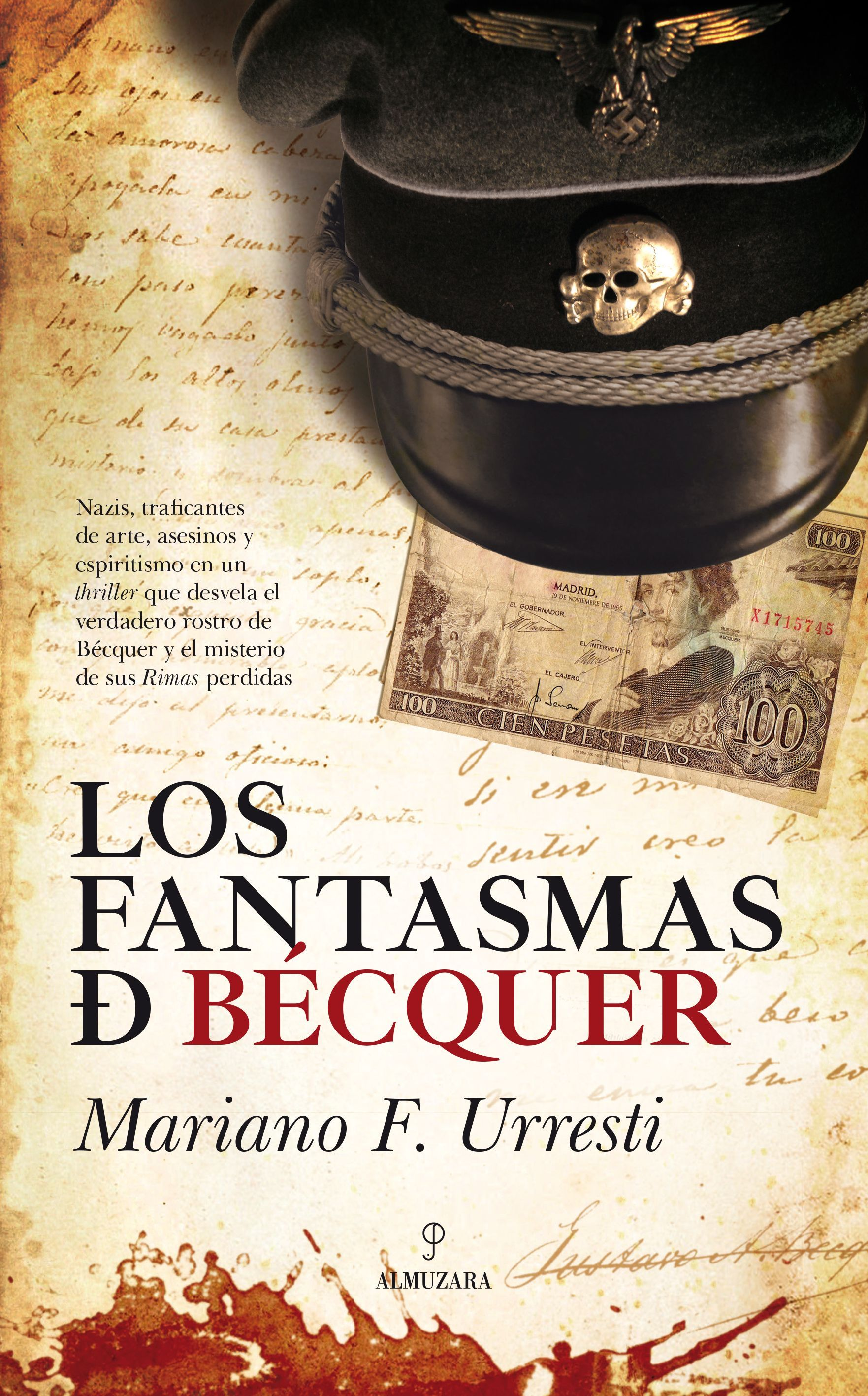 Los Fantasmas de Bécquer (Portada del libro)