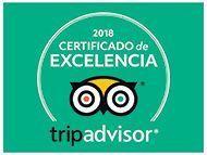 Certificado Excelencia Tripadvisor 2018