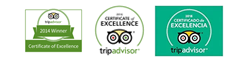 Certificados Excelencia Tripadvisor para Rutas de Toledo