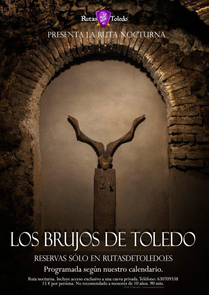 Los Brujos de Toledo. Ruta especial nocturna