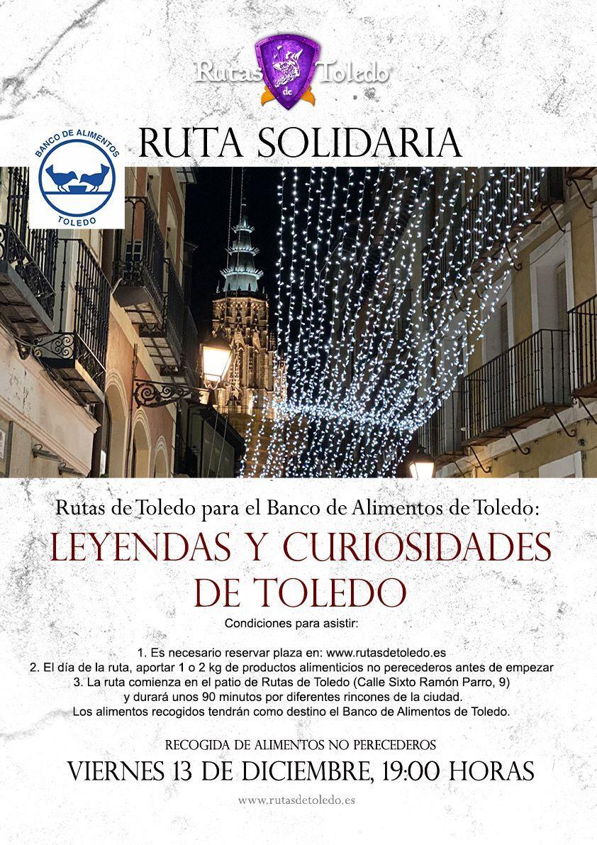 Ruta Solidaria Navidad 2019 en Toledo