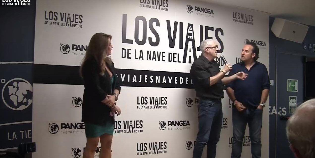 Luis Rodríguez Bausá colabora en Toledo con «Los viajes de la Nave del Misterio» de Iker Jiménez