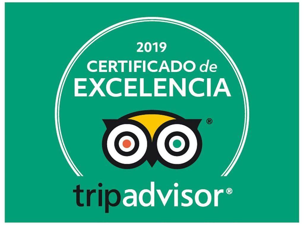 Certificado Tripadvisor 2019