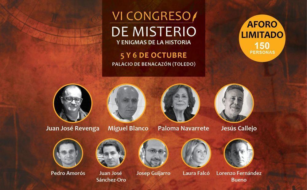 VI Congreso de Misterio y Enigmas de la Historia en Toledo