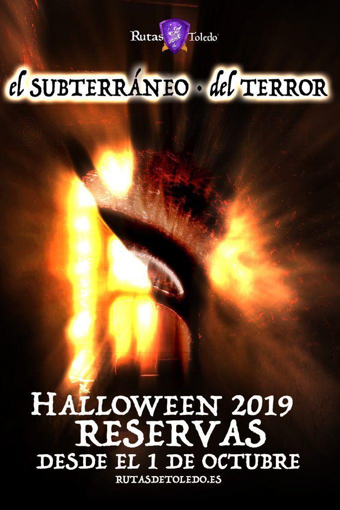Previo - El Subterráneo del Terror Halloween Toledo 2019