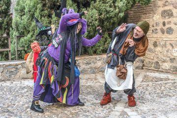 La Bruja y el Engendro. Foto: Marta Alarcón