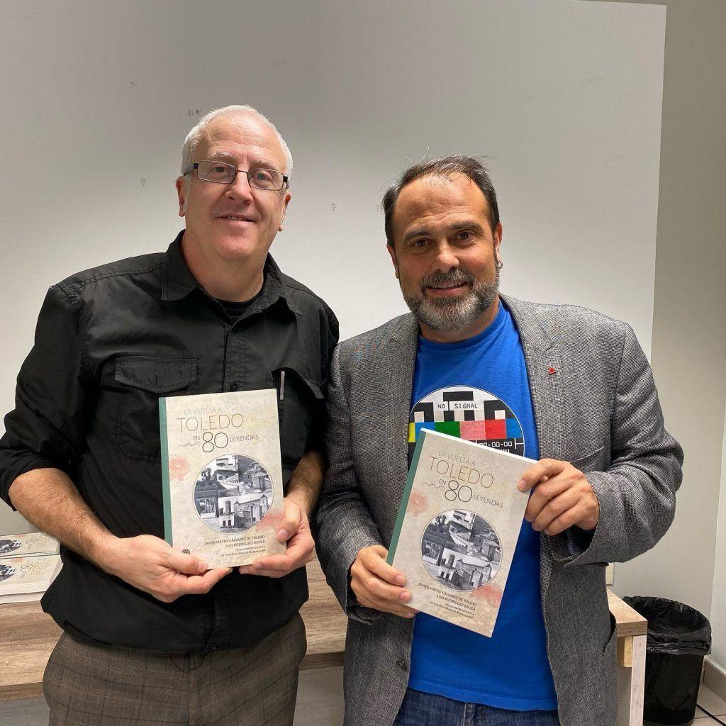 Luis R. Bausá y Javi Mateo reeditan La Vuelta a Toledo en 80 leyendas