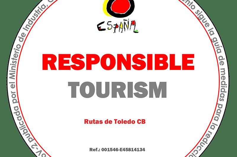 Distintivo de compromiso con un turismo responsable frente al COVID-19