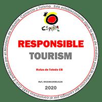 La Secretaría de Estado de Turismo ha creado el distintivo «Responsible Tourism» para reconocer a aquellos establecimientos turísticos que hacen un esfuerzo por crear un entorno seguro no solo para los turistas sino para sus propios trabajadores y los residentes, aplicando las directrices y recomendaciones contenidas en las guías de medidas para la reducción del contagio por el coronavirus SARS-CoV-2.