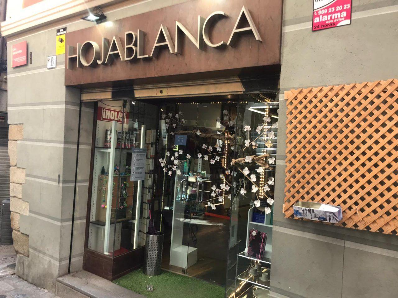 Librería Hojablanca en Toledo