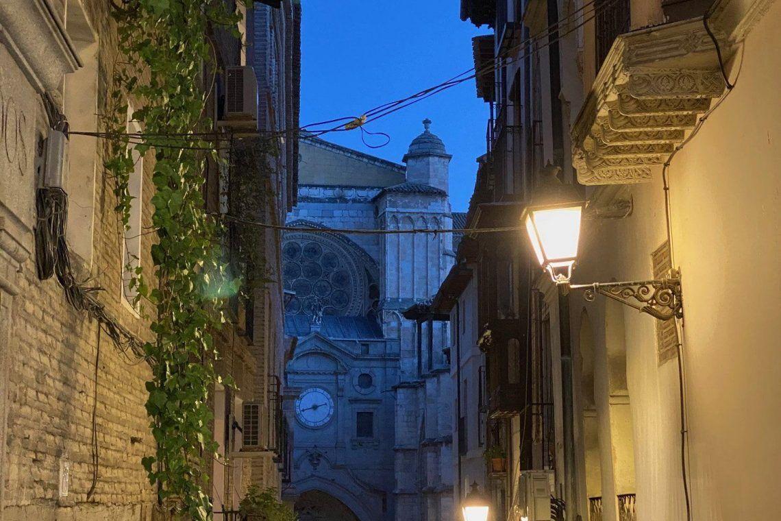Calle Chapinería de Toledo