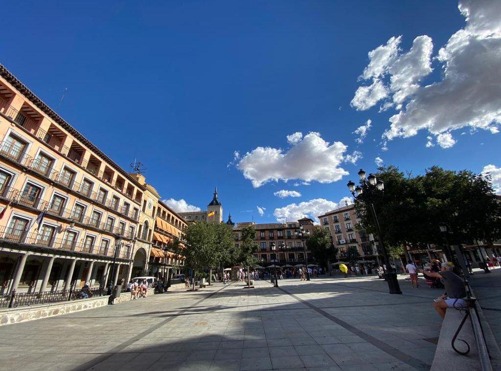 Toledo, plaza de Zocodover