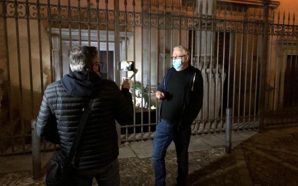 Más de 100 afiliados a la ONCE asistieron ayer a una visita guiada virtual por las calles de Toledo