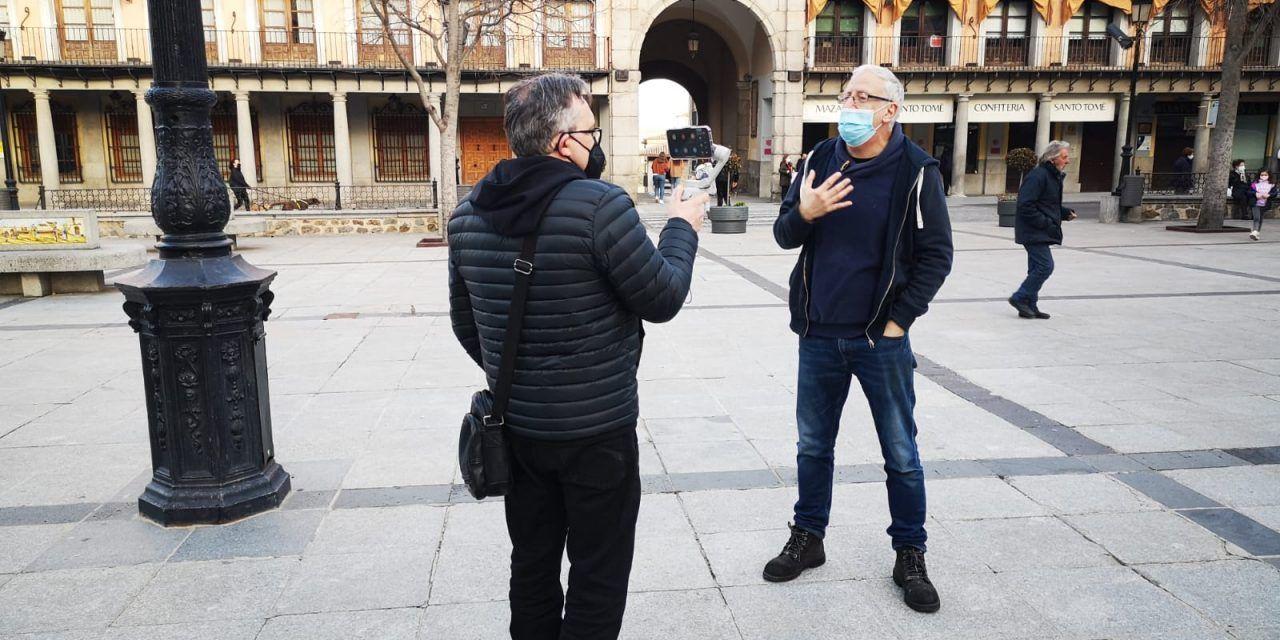 Ahora puedes contratar una visita guiada privada, en directo, en streaming, por las calles de Toledo
