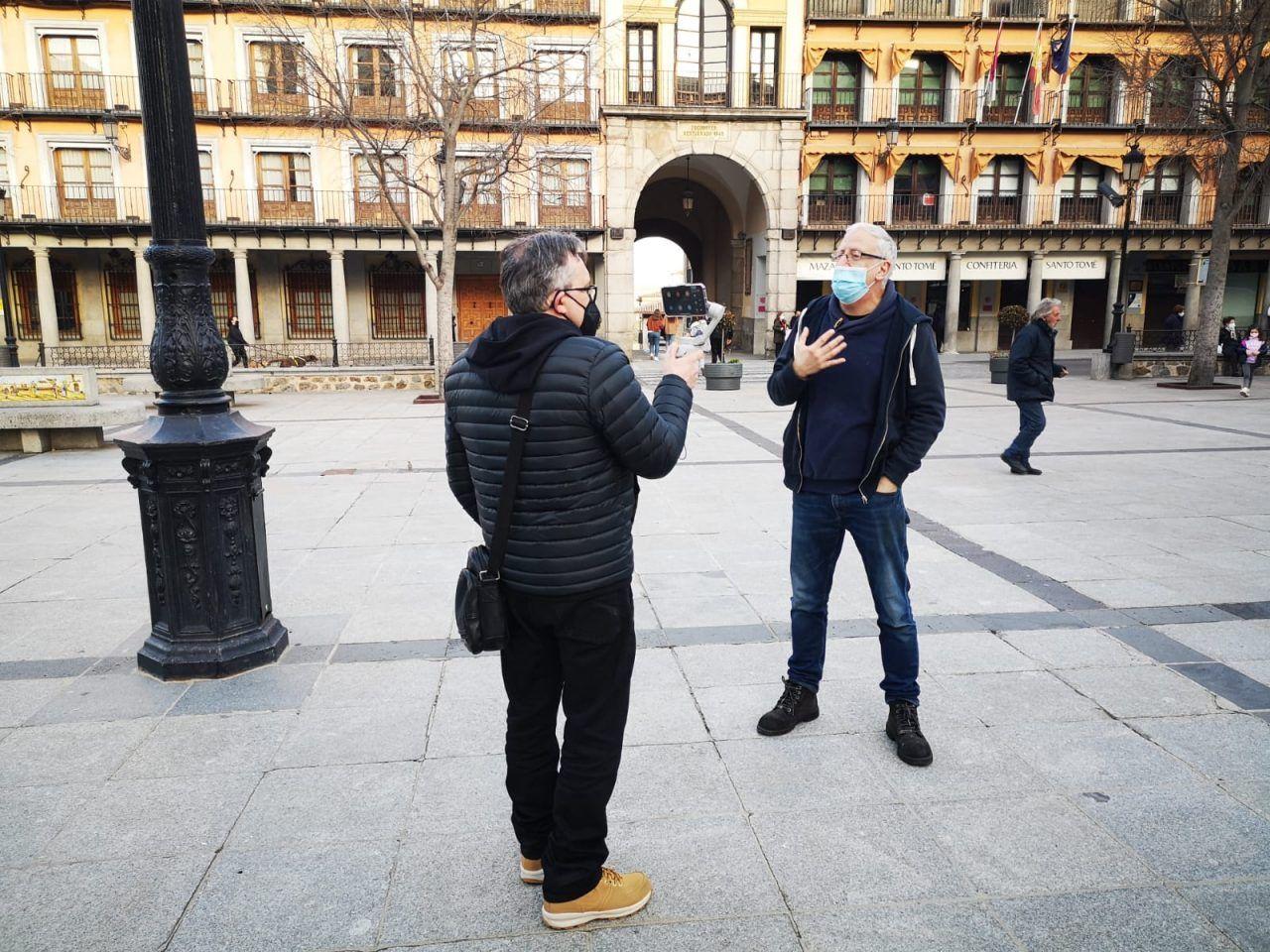 Emisión por streaming de una visita guiada con Rutas de Toledo
