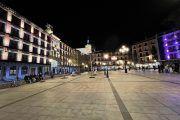 Plaza de Zocodover por la noche, 2021