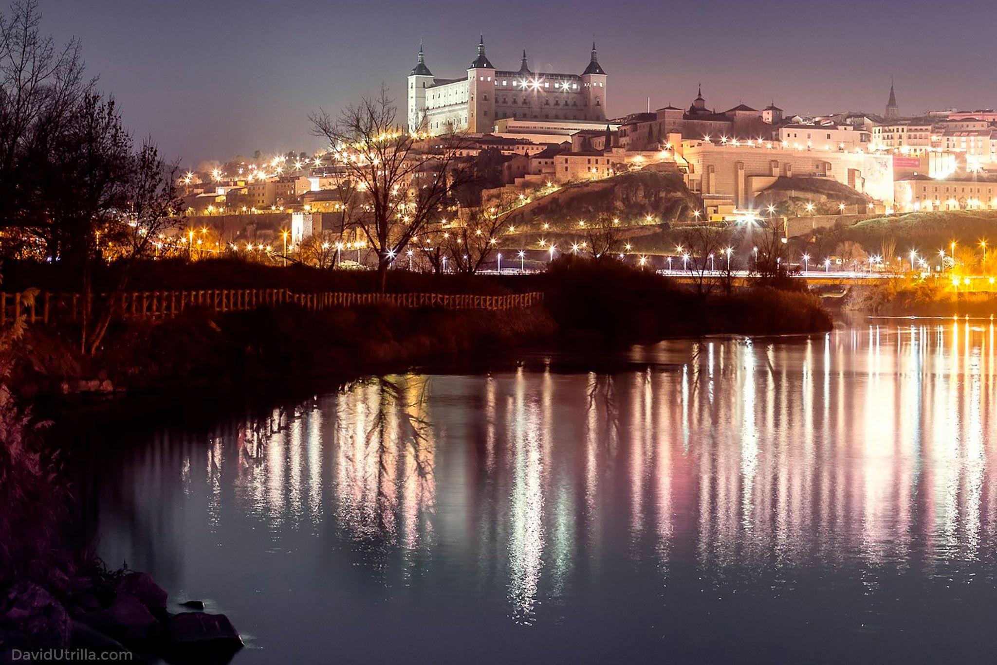 Toledo y el Tajo, por David Utrilla