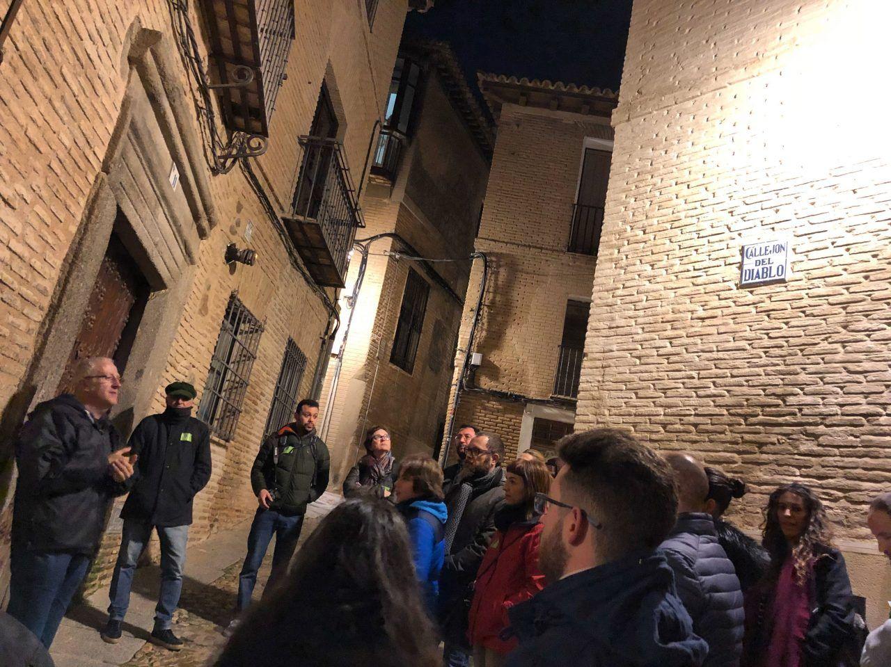 Ruta Toledo Mágico, un grupo anterior a la pandemia