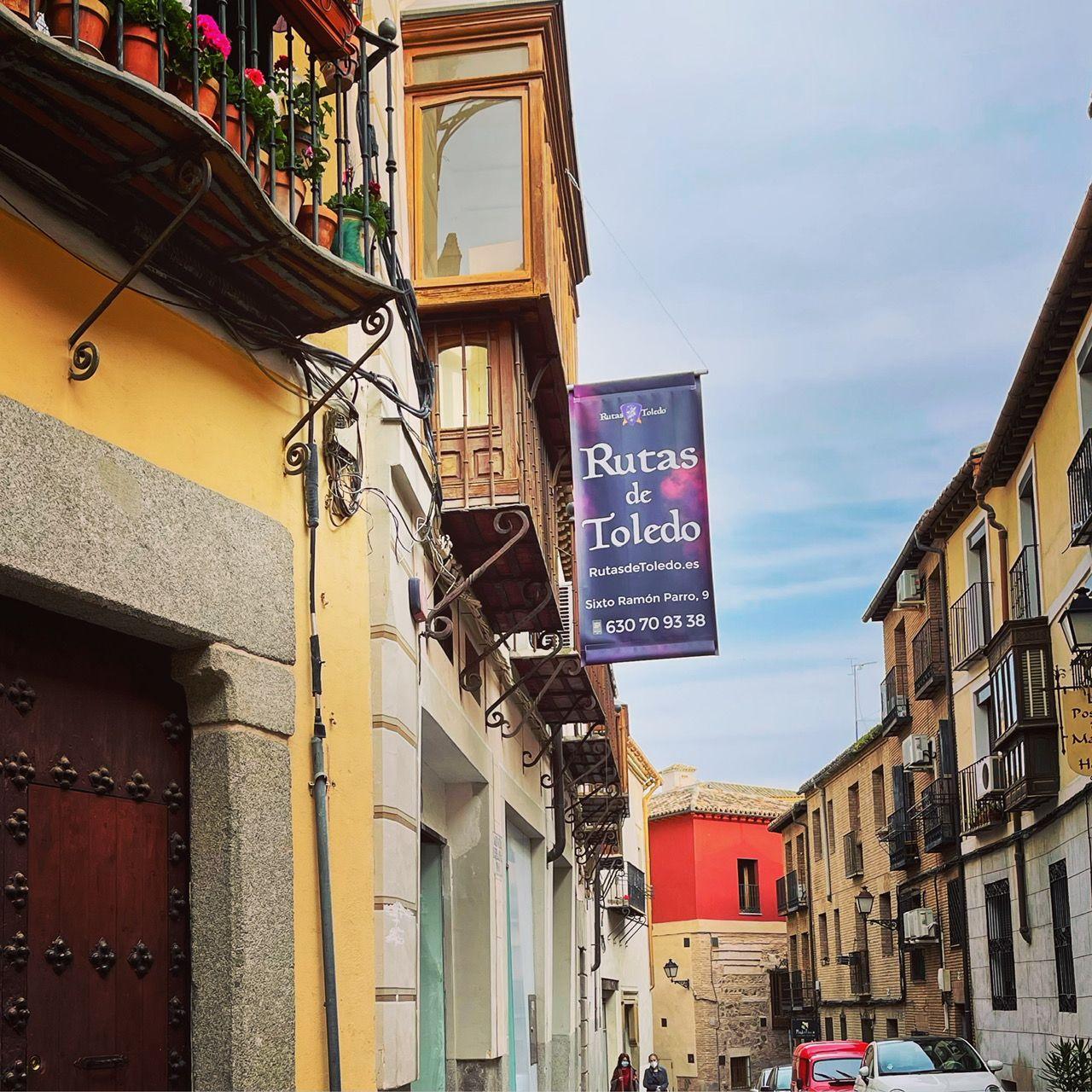 Calle Sixto Ramón Parro, Rutas de Toledo