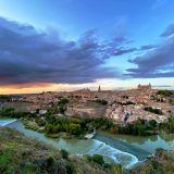 Toledo, puesta de Sol
