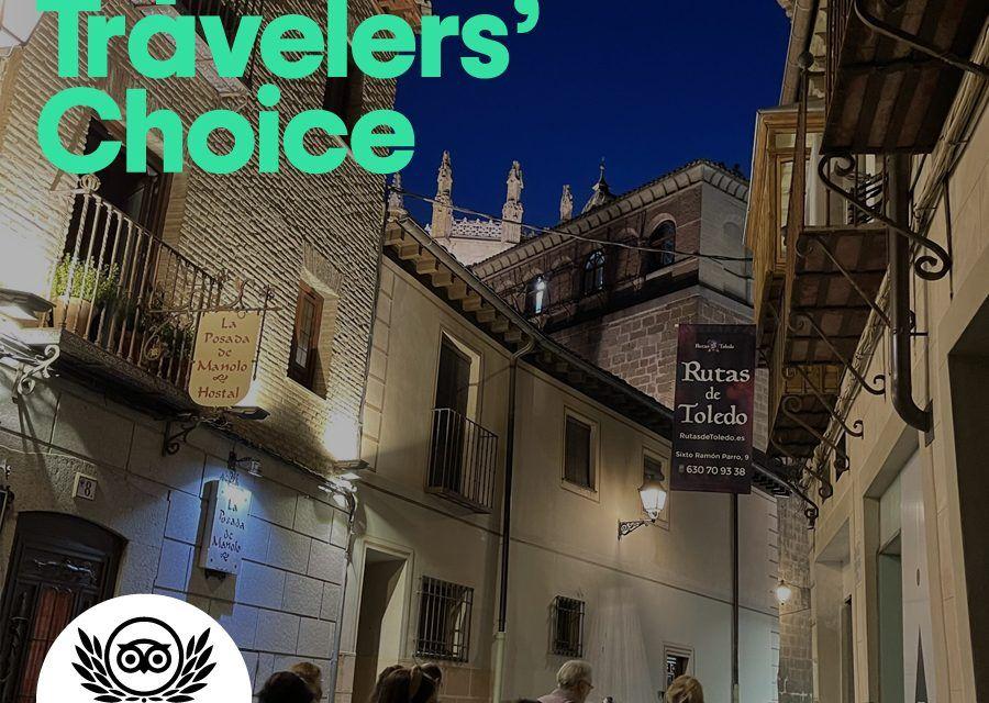 Rutas de Toledo, seleccionada por Tripadvisor en los Travelers' Choice 2021