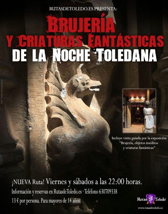 Cartel Ruta Brujería Toledo 2021