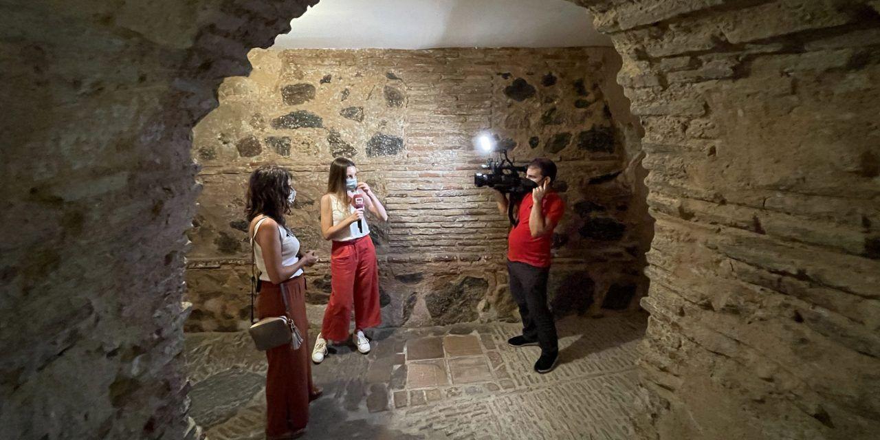 La visita guiada Toledo subterráneo, en televisión de Castilla-La Mancha