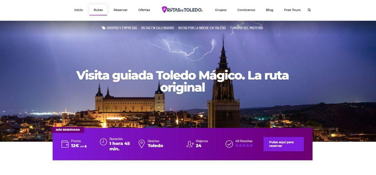 Ruta Toledo Mágico en la web