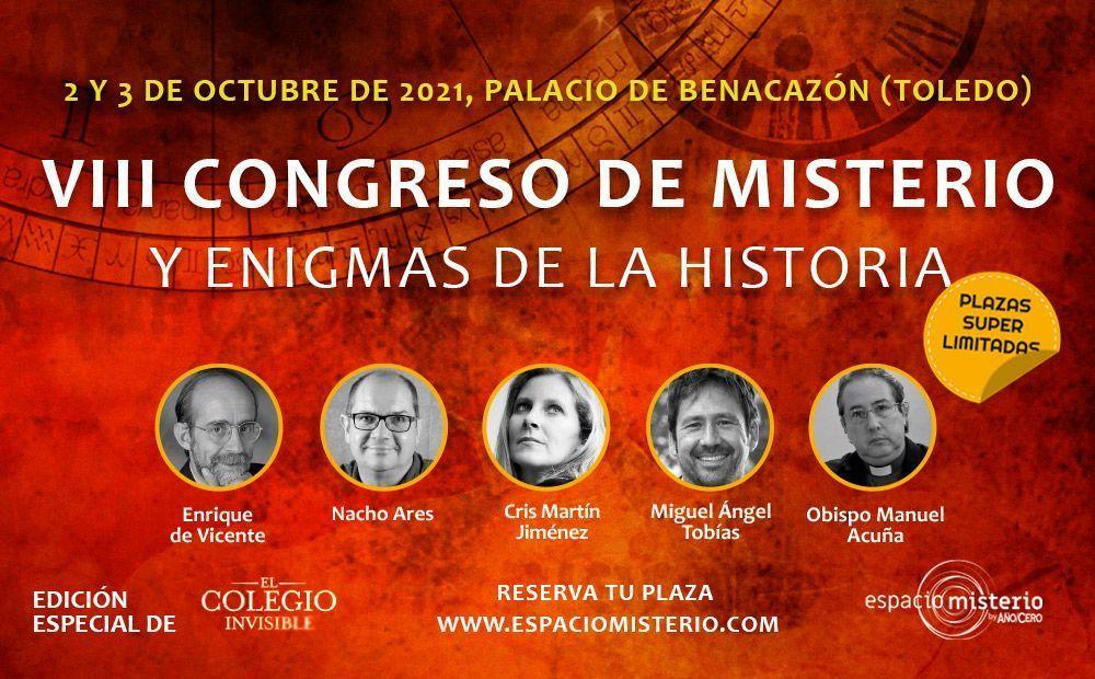 VIII Congreso de Misterio y Enigmas históricos 2021